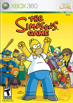The Simpsons Game.JPG