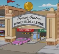 Towne Centre em Springfield Glenne