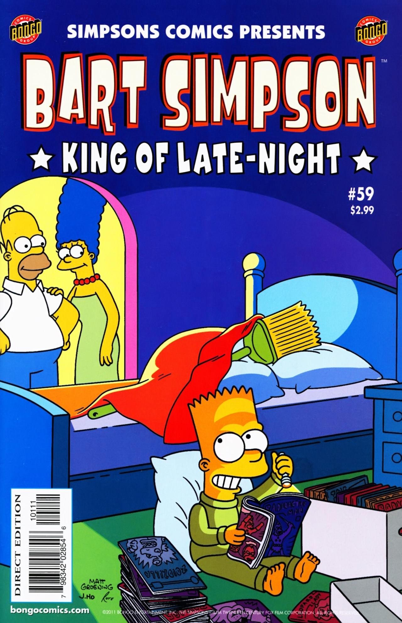 Bart Simpson Comics 59