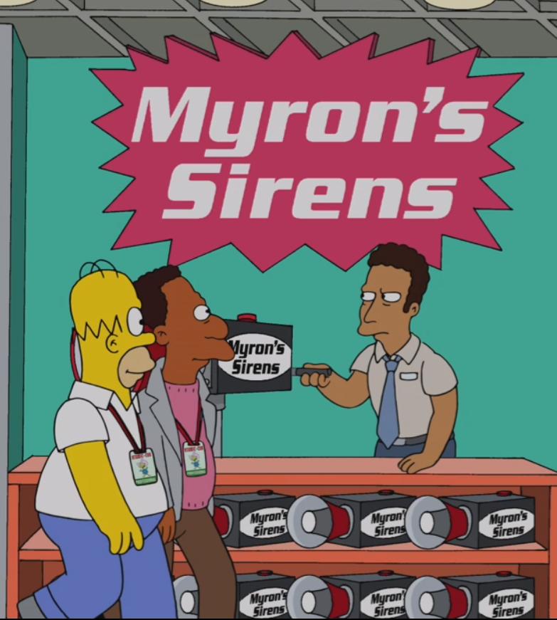 Myron's Sirens