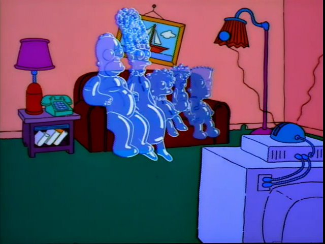 Bubble Family couch gag