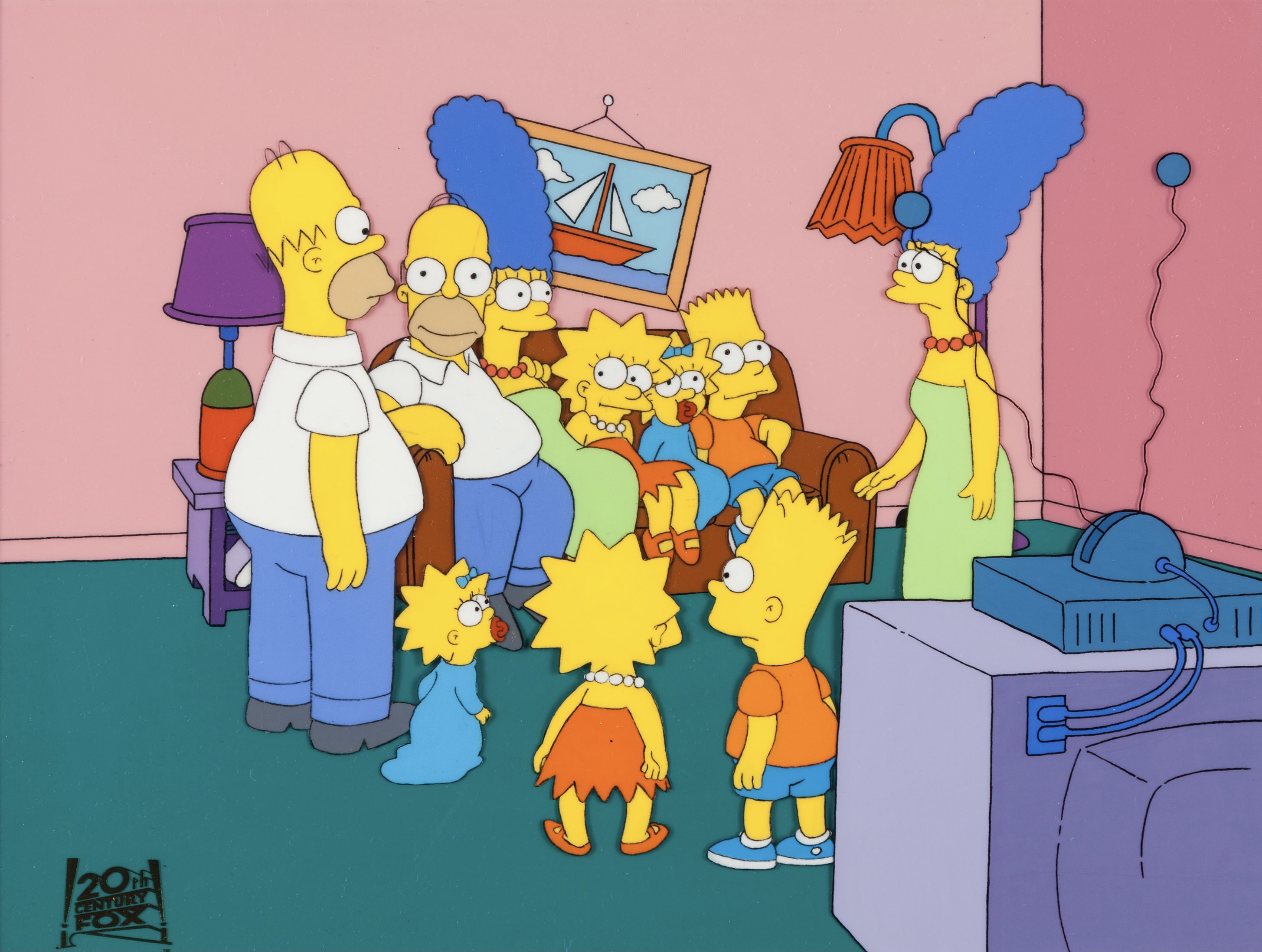 Duplicate Family couch gag