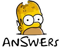 Simpsons Answers