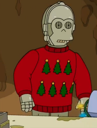 C-3PO parody