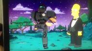 Simpsons Fox Robot