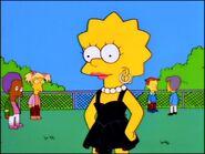 Lisa in a black dress 3