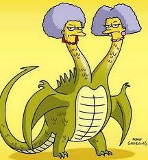 Patty and Selma Dragon