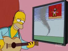 Homer violão tv plasma