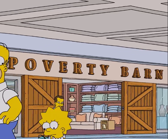 Poverty Barn
