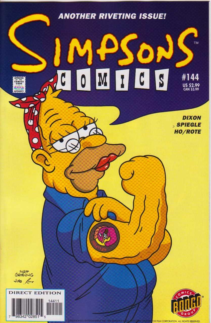 Simpsons Comics 144