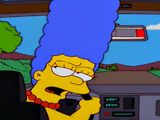 Marge Simpson, o terror das ruas