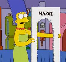 Marge molde cabelo