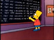 Chalkboard gag (Krusty Gets Busted)