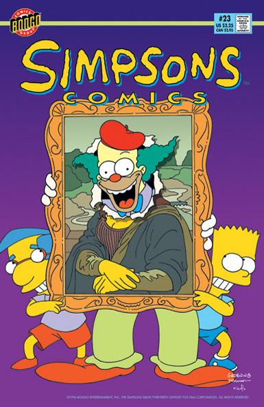 Simpsons Comics 23