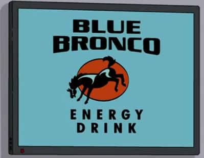 Blue Bronco Energy Drink