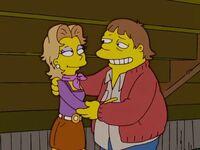 Chloe e Barney fidanzati da giovani.