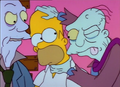 Homer and Zombies