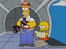 Homerazzi lisa helicoptero 1