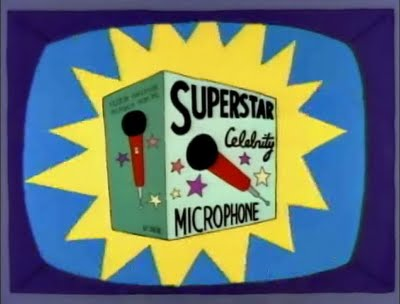 Microfone Superstar Celebridade