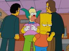 Bart mafia capangas krusty