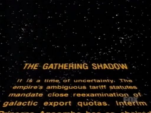 Cosmic Wars: The Gathering Shadow