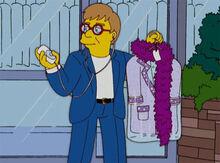 Elton john 18x16