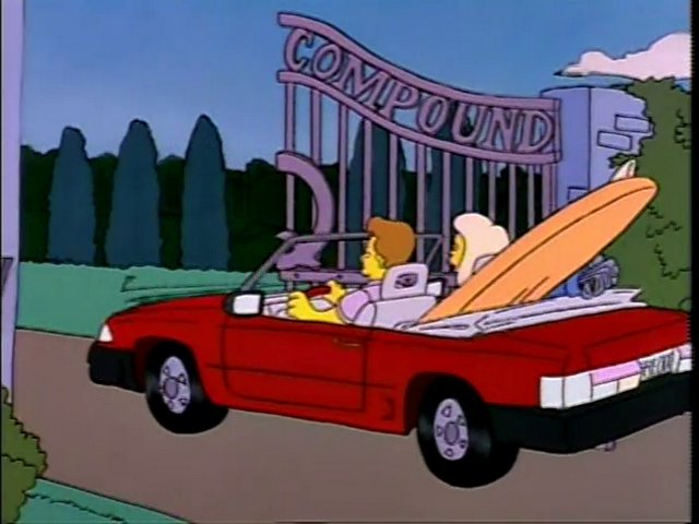 Freddy Quimby's car