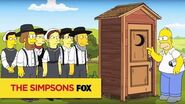 """THE SIMPSONS Little Boy's Room from """"Lisa with an 'S"""" ANIMATION on FOX"""
