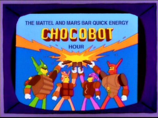 Mattel and Mars Bar Quick Energy Chocobot Hour