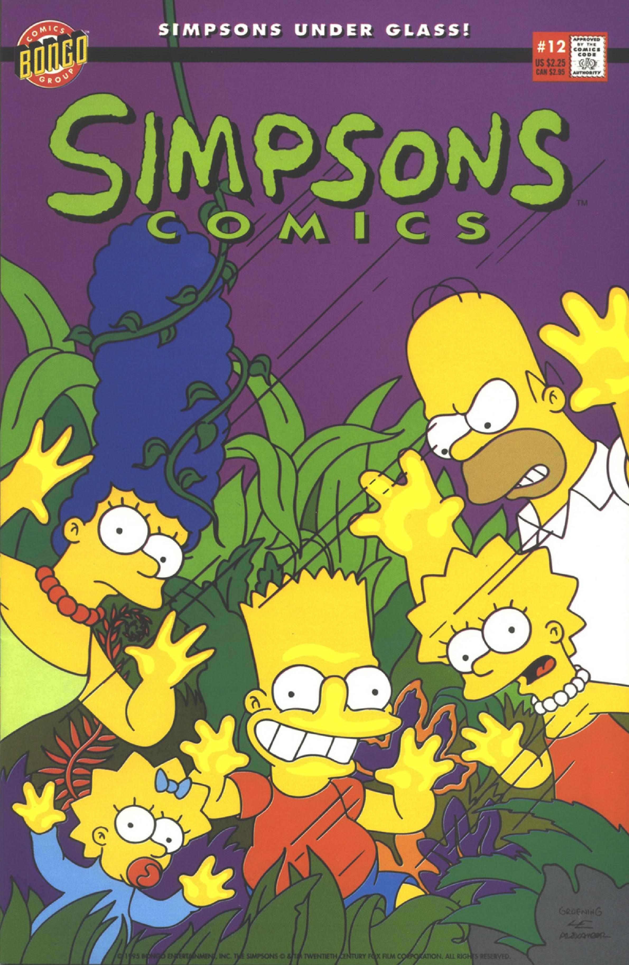 Simpsons Comics 12