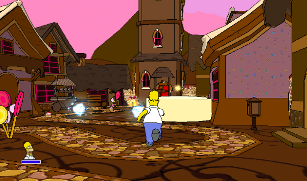 The Land of Chocolate (The Simpsons Game)