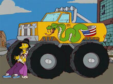 Cletus monster truck 18x14