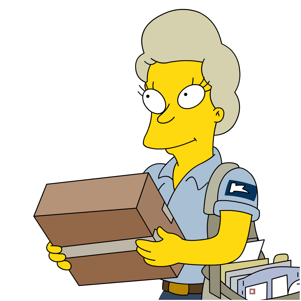 Female Mail Carrier