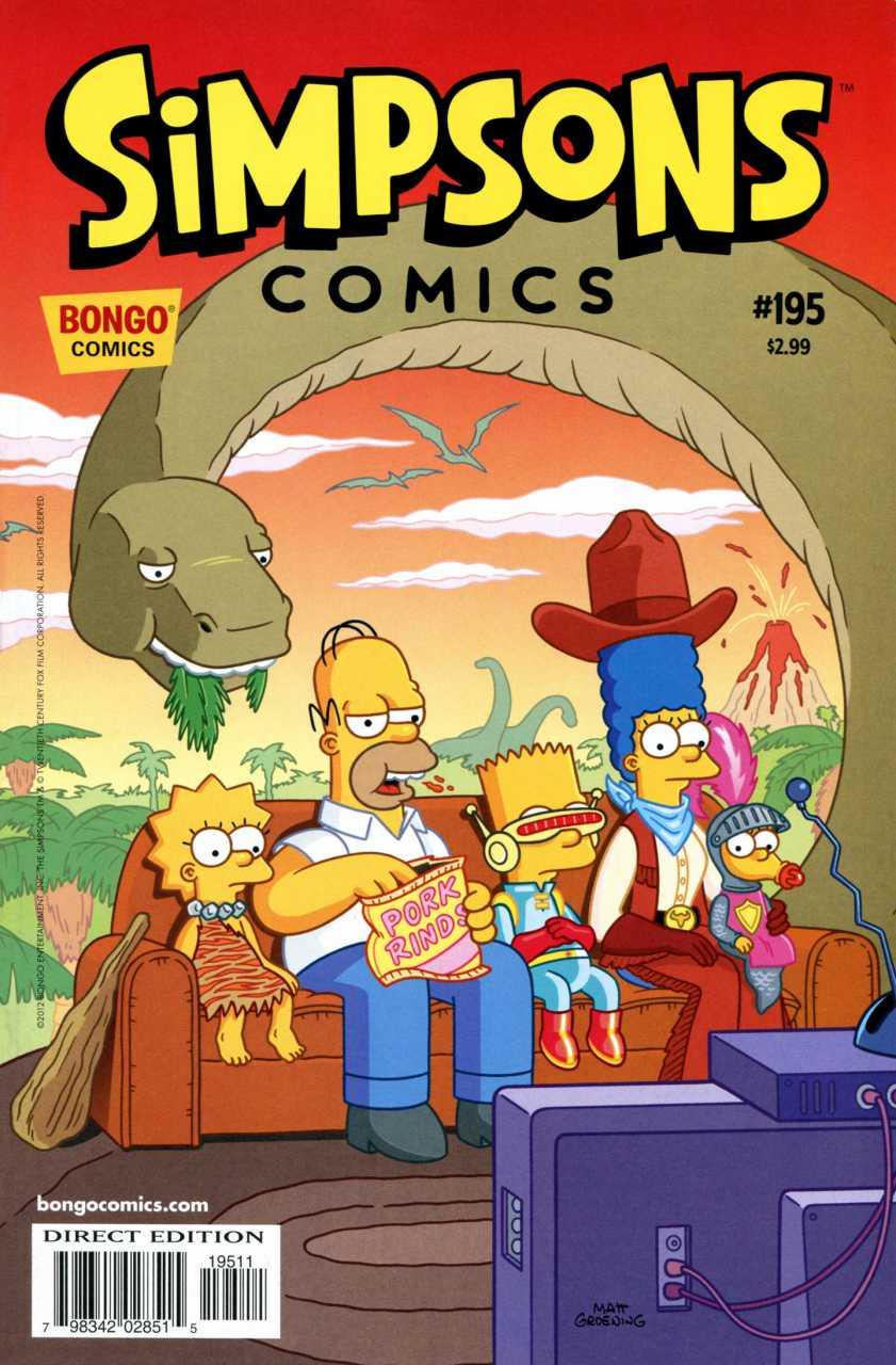 Simpsons Comics 195
