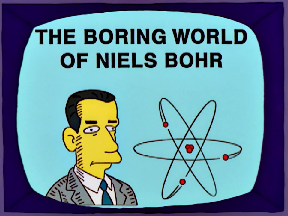 The Boring World of Niels Bohr
