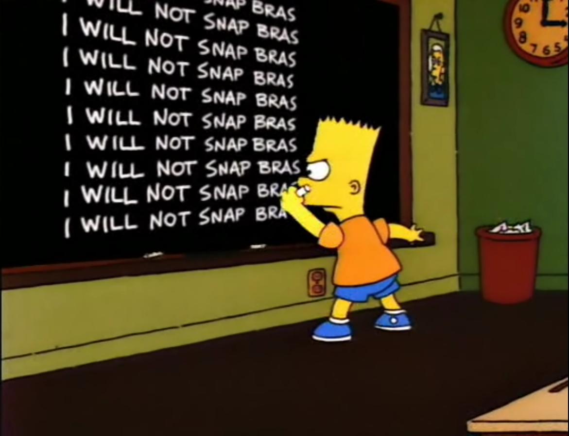 Bart's Friend Falls in Love/Gags