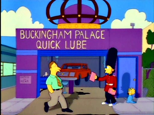 Buckingham Palace Quick Lube