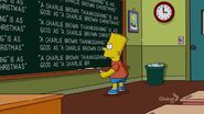 How Munched Is That Birdie in the Window Chalkboard Gag