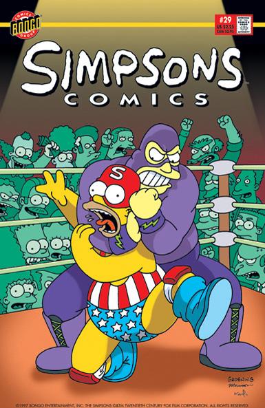Simpsons Comics 29