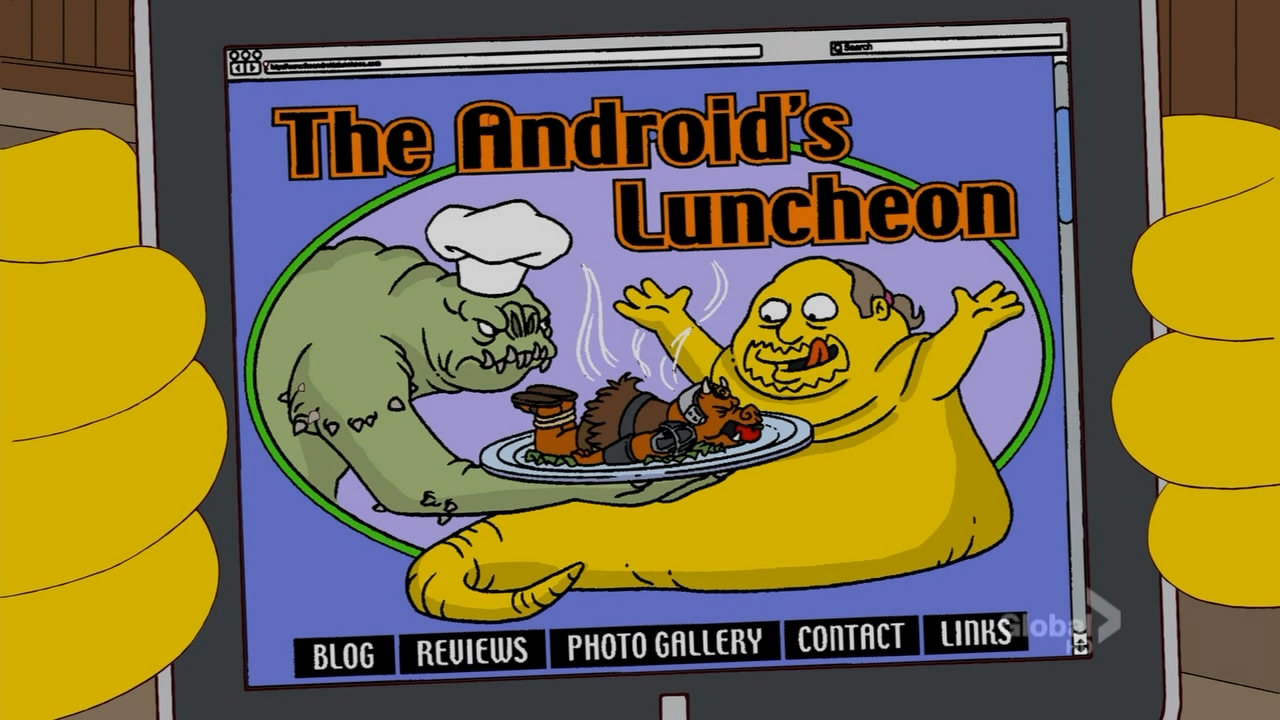 The Android's Luncheon