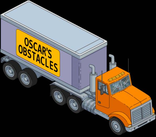 Oscar's Obstacles Truck