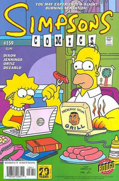 Simpsons Comics 159