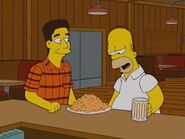 Homer with Ray Magini