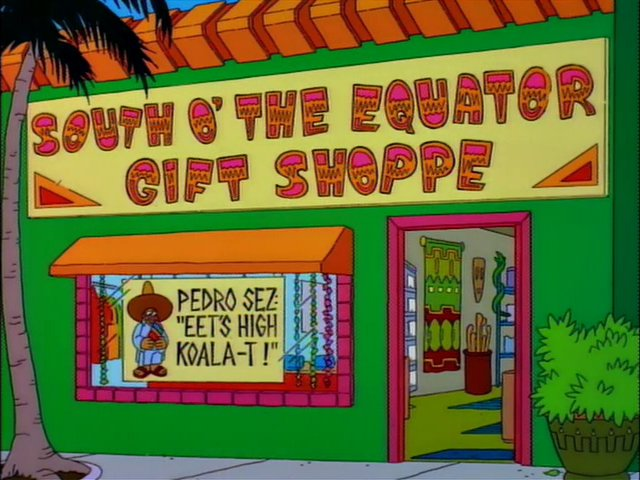 South O' the Equator Gift Shoppe