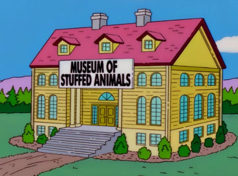 Museu de animais empalhados
