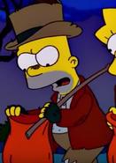 Bart as a Hobo
