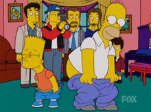 Bart homer bunda reality