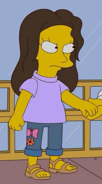 El Puerco's first girlfriend