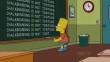 Bart Gets a Z Chalkboard Gag.JPG