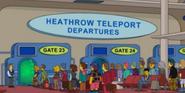 Heathrow Teleport Depatures